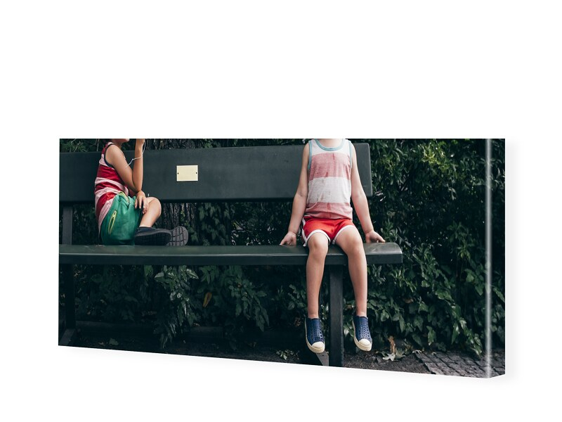 Leinwand als Panorama im Format 150 x 30 cm