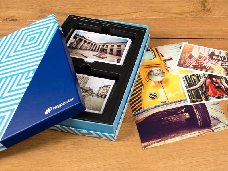 Große Bilderbox mit 50 Fotos