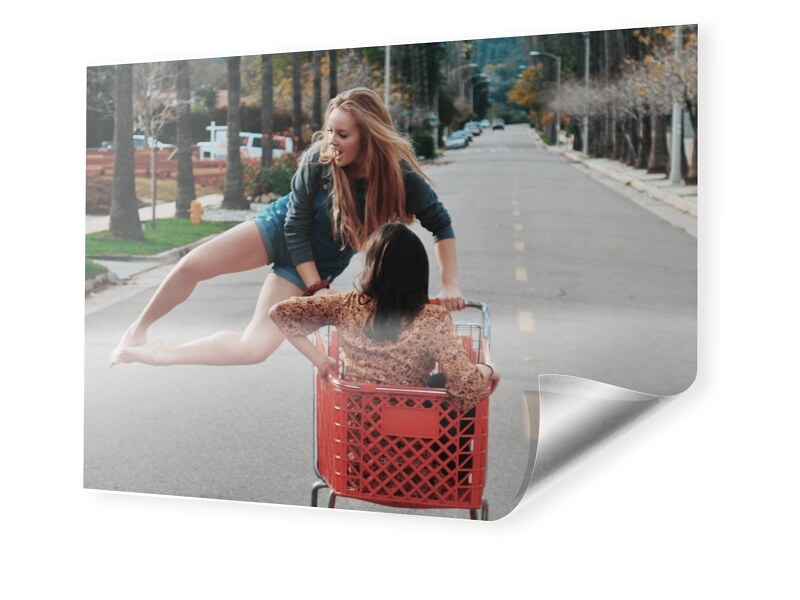 Backlit Druck im Format 64 x 36 cm