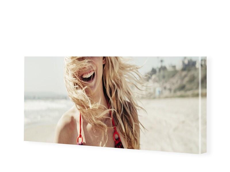 Leinwand Bild als Panorama im Format 40 x 20 cm