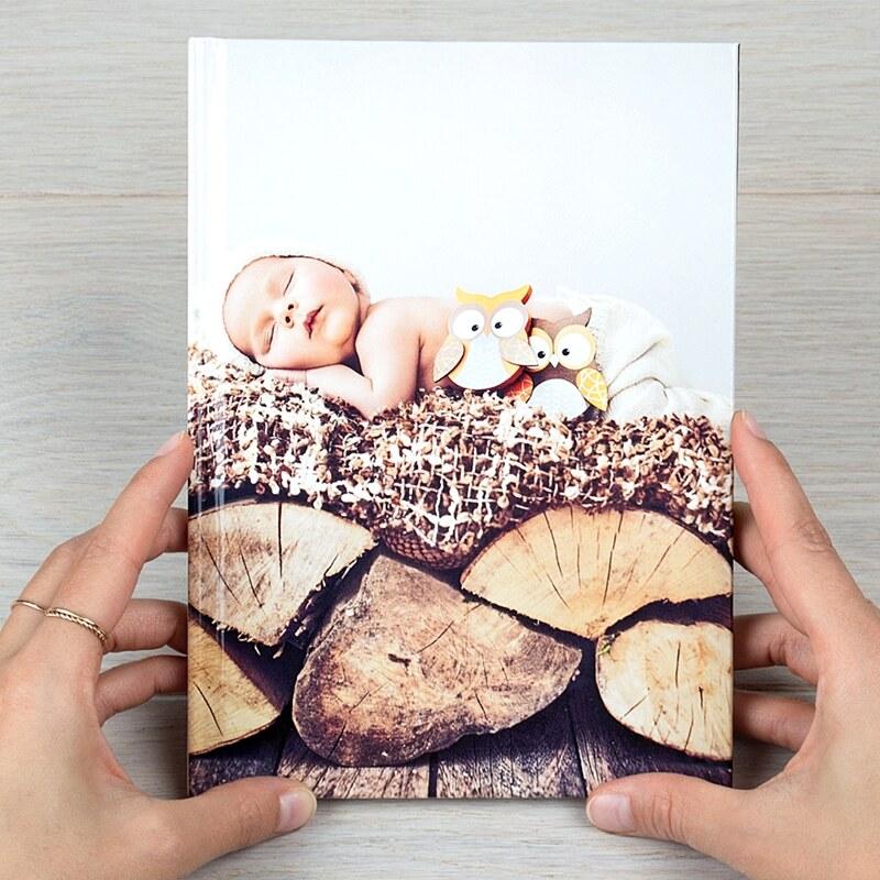 Digitaldruck Fotobuch A4 Hochformat Hardcover