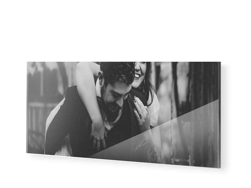 Acrylglas Poster als Panorama im Format 100 x 20 cm
