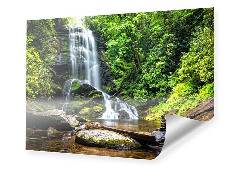 Wasserfall Motiv Poster im Format 80 x 60 cm