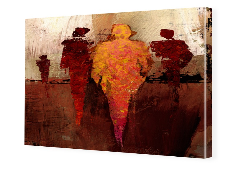 Kunstdruck Foto auf Leinwand im Format 100 x 75 cm