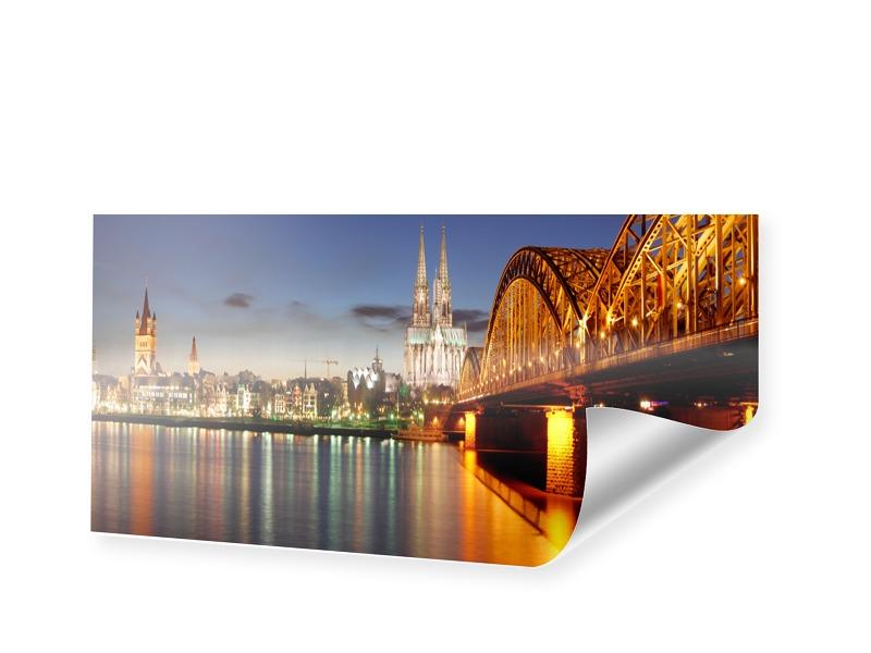 Koeln Poster Bilder drucken als Panorama im For...