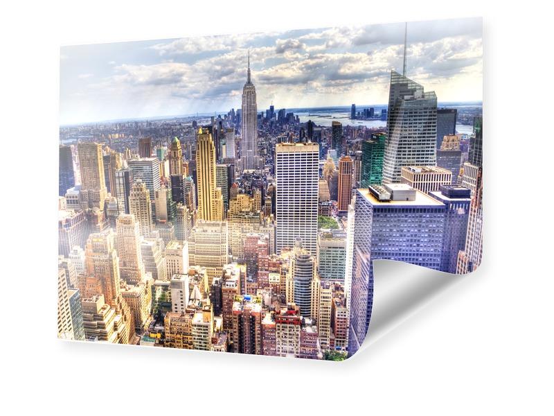 Manhattan Poster Foto im Format 100 x 80 cm