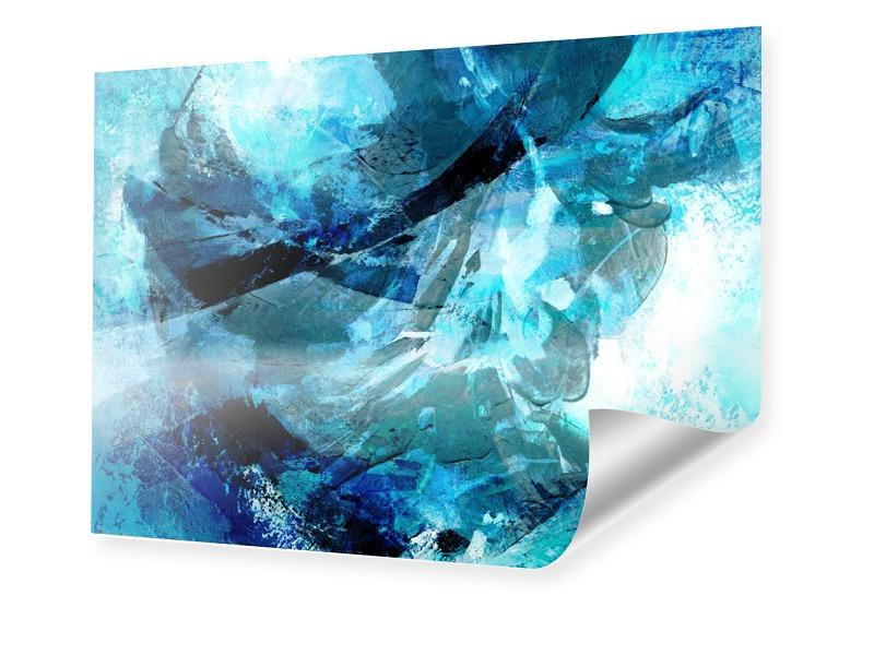 farbiges Abstrakt Foto im Format 50 x 40 cm