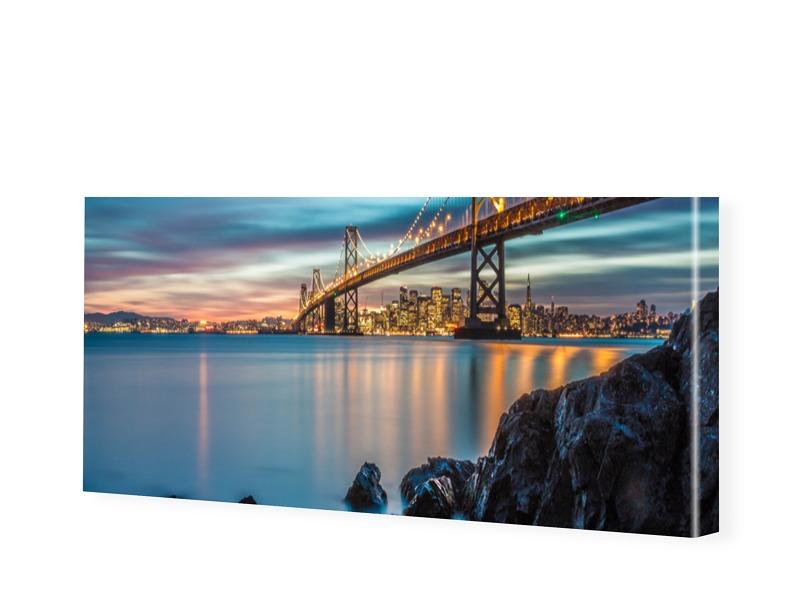 Panorama Leinwand als Panorama im Format 275 x ...