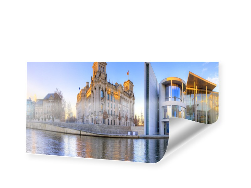 Reichstag Fotos Panoramaposter als Panorama im ...