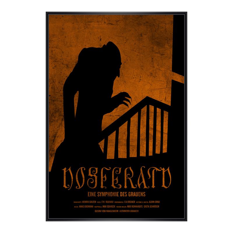 Nosferatu Poster Poster im Kunststoffrahmen in ...