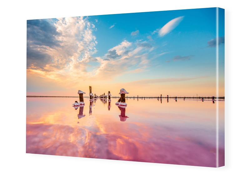 Meer Foto Fotoleinwand im Format 90 x 60 cm