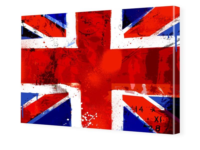 04196adf8cddc58e1601fc47ce8f58814e8cc4e6 - Photos du drapeau anglais Impression photo sur toile en format 60 x 40 cm