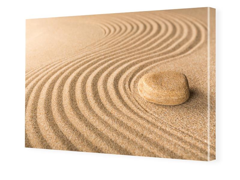 Sand Motiv Bilder auf Leinwand im Format 120 x ...