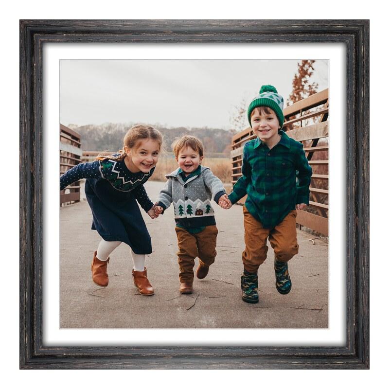 Bilder drucken im Bilderrahmen Holz Vintage in schwarz als Panorama im Format 30 x 15 cm | Dekoration > Bilder und Rahmen > Rahmen | myposter