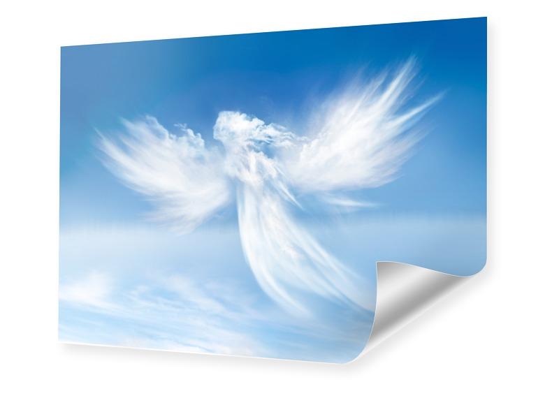 Engel Motiv Poster im Format 80 x 60 cm