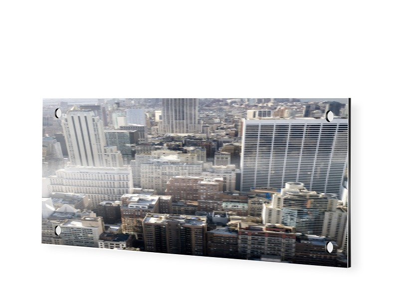 Manhattan Bilder Panoramabilder als Panorama im Format 120 x 40 cm