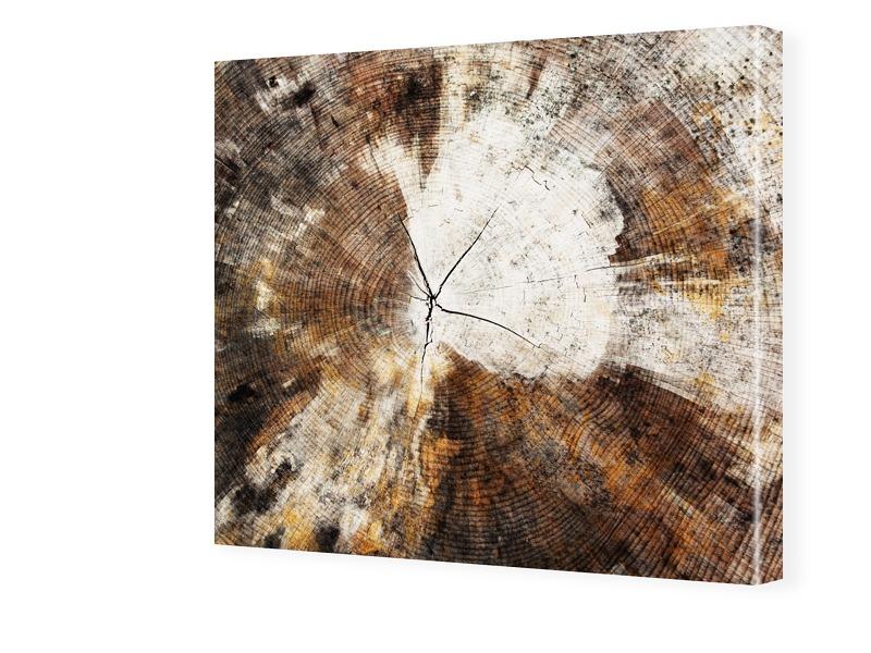 Holz Motiv Fotos auf Leinwand quadratisch im Fo...