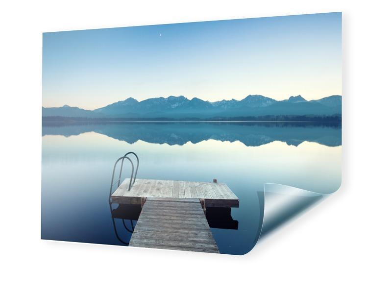 Backlit Druck im Format 240 x 135 cm