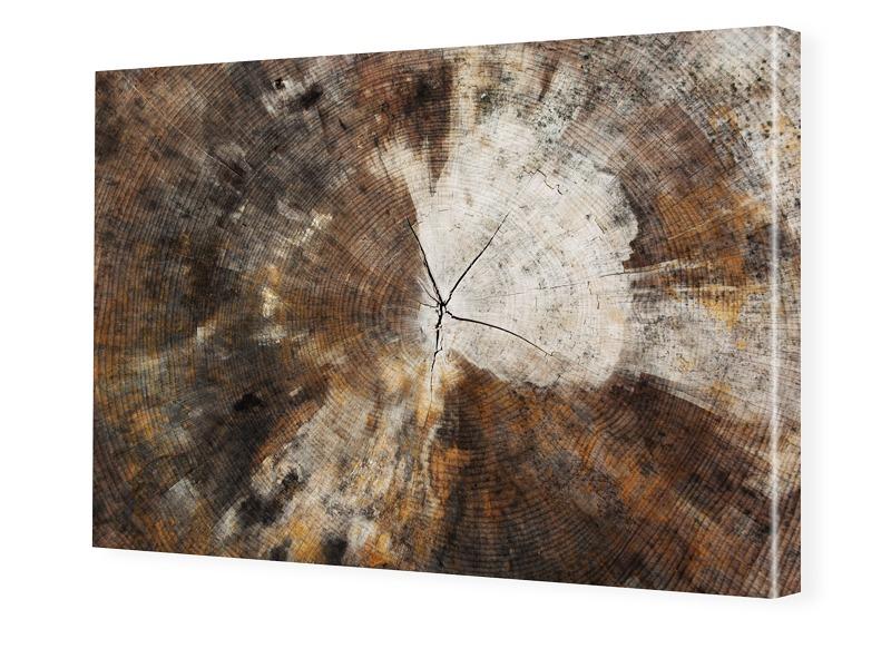 Holz Motiv Bilder auf Leinwand im Format 150 x ...