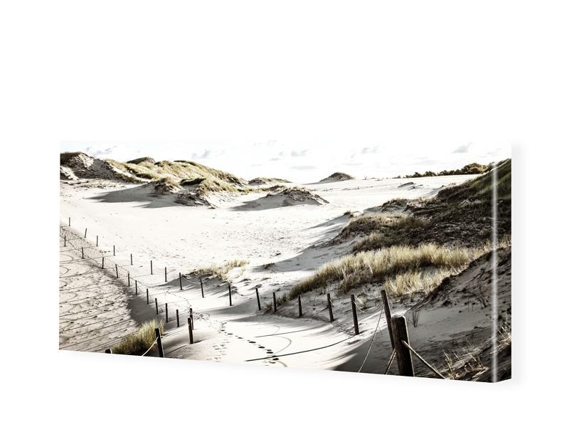 Strand Motiv Panorama Leinwand als Panorama im ...