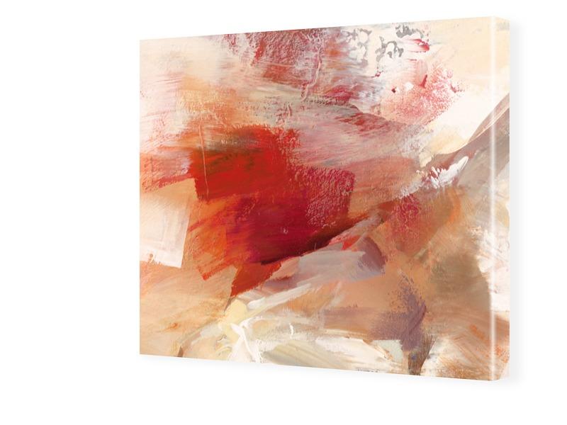 abstraktes Bild von Sanddünen Fotos auf Leinwan...