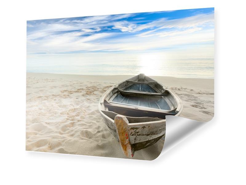 Strandbild Posterdruck im Format 90 x 60 cm