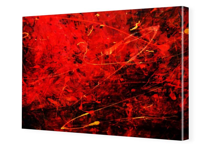 abstrakt Druck Leinwand drucken im Format 112 x...