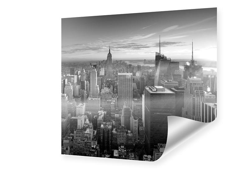 Manhattan Skyline Foto vergrößern quadratisch i...