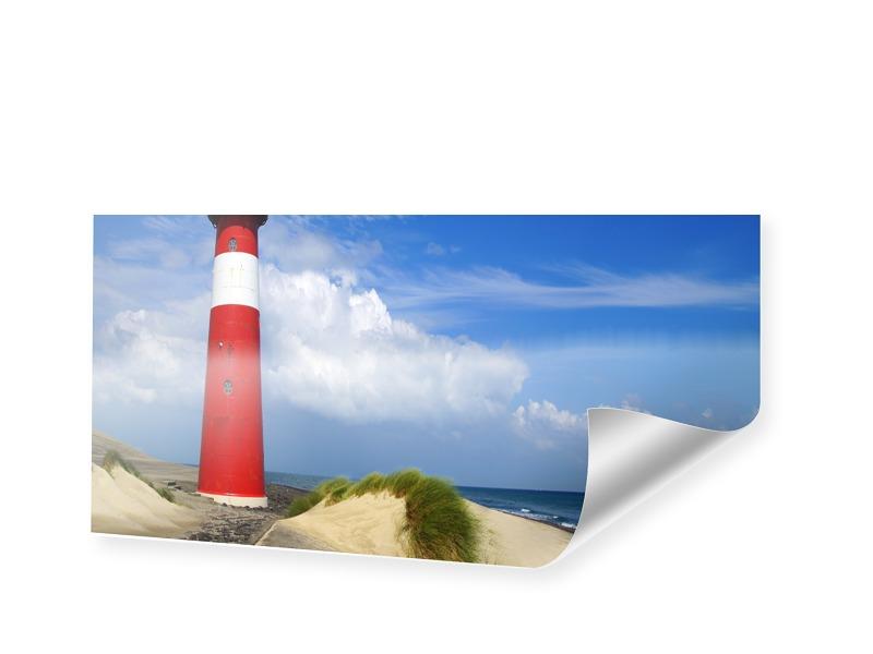 Leuchtturm Poster Bilder drucken als Panorama im Format 90 x 45 cm