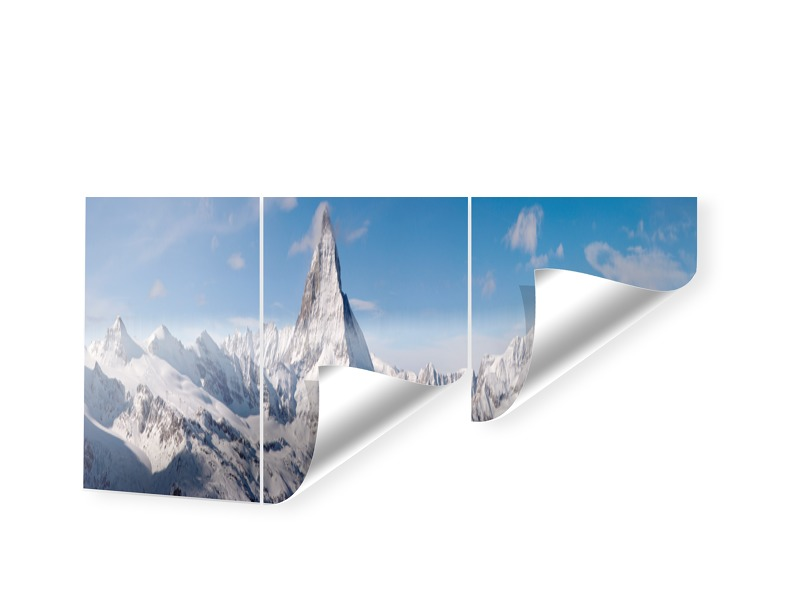 Alpen Panorama Matterhorn Panorama Tapete als P...