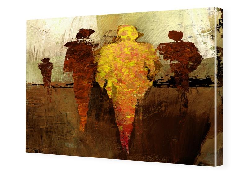 Kunstdruck Foto auf Leinwand im Format 80 x 60 cm