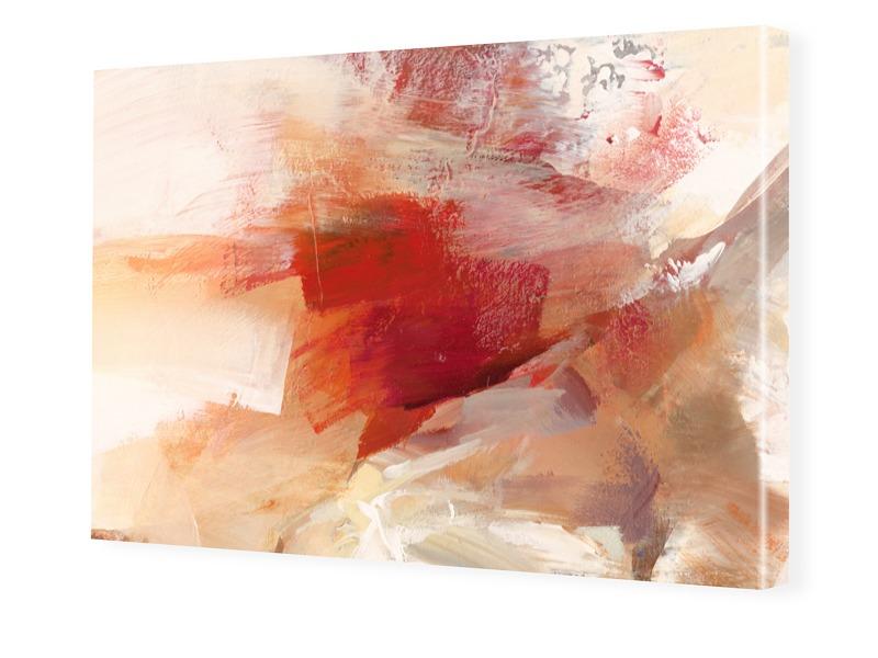 abstraktes Bild von Sanddünen Bilder auf Leinwa...