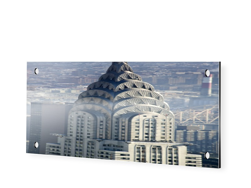 Chrysler Building Fotos Dibond als Panorama im ...