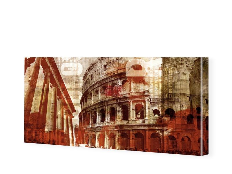 Rom Bilder Leinwand Bild als Panorama im Format...