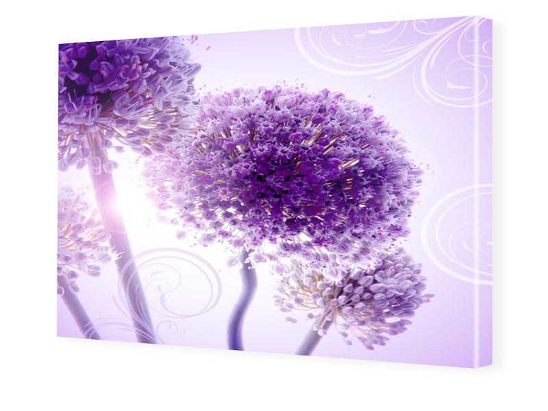 Blumenposter Foto auf Leinwand im Format 80 x 6...
