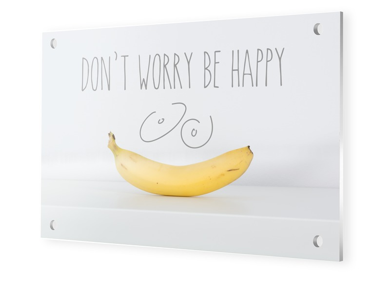 Don't Worry Be Happy Bild Foto auf Forex i...