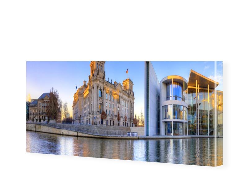 Reichstag Fotos Leinwanddruck als Panorama im F...