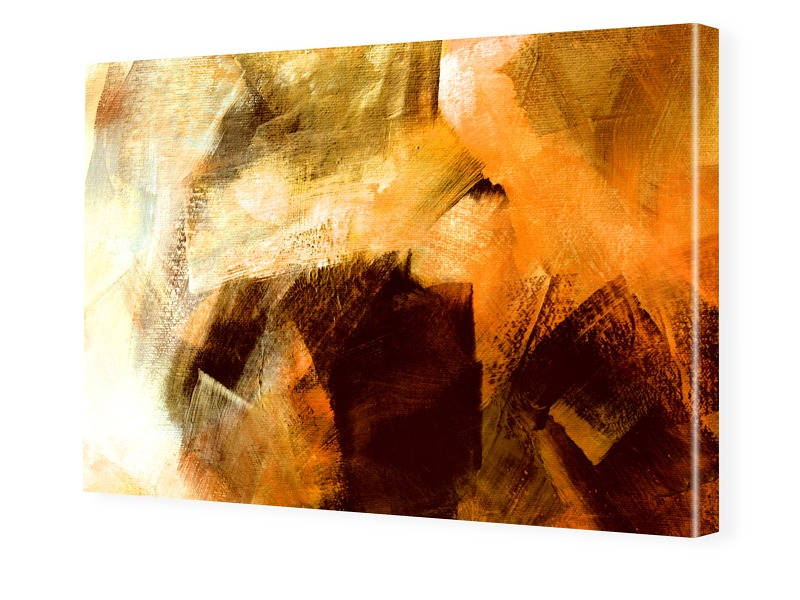 Bild Abstrakt Leinwand Foto auf Leinwand im For...
