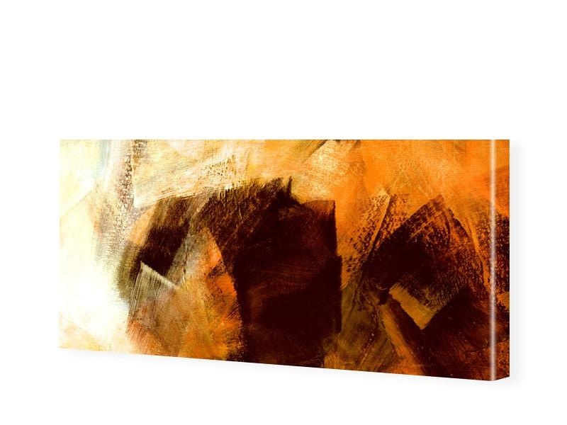 Bild Abstrakt Leinwand Panorama Leinwand als Pa...