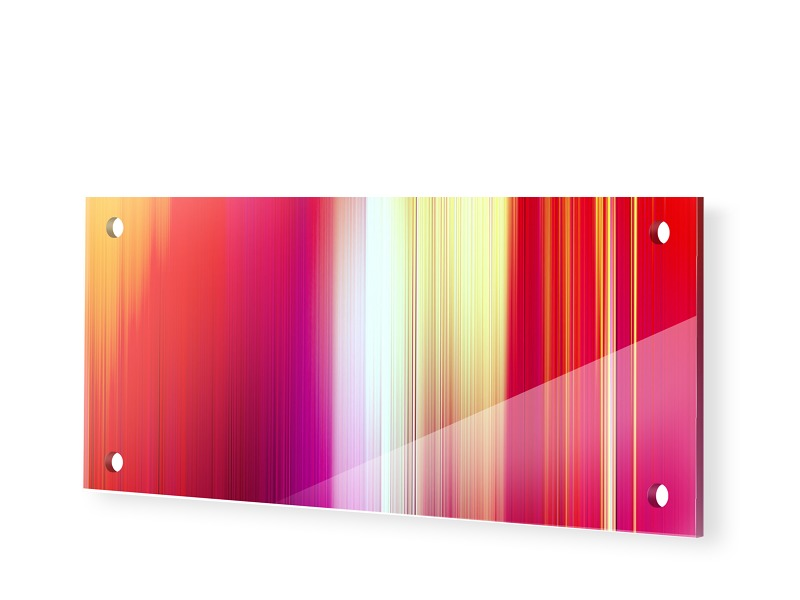 Abstrakte Bilder Kaufen Acrylglas Druck als Pan...