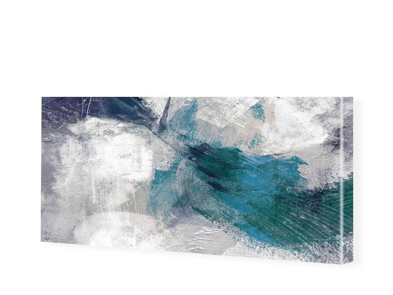 Bild Abstrakt Leinwand als Panorama im Format 2...