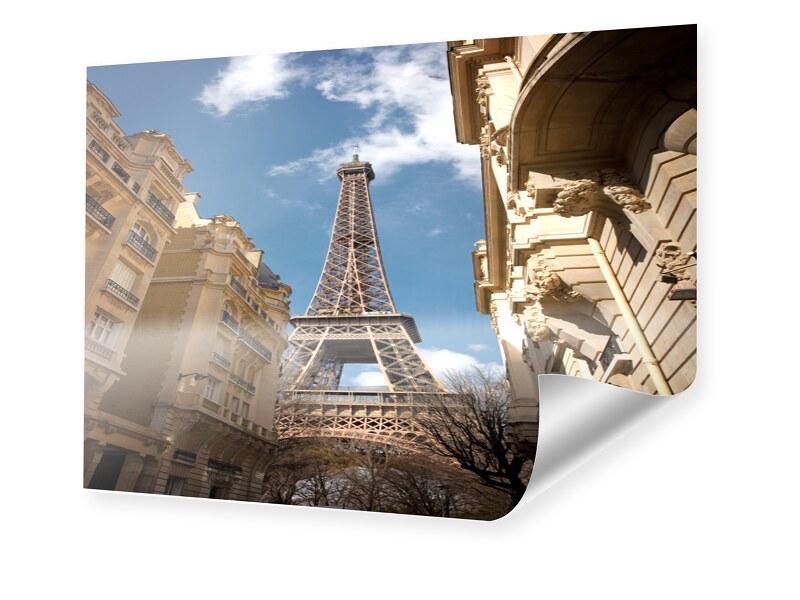 Eiffelturm Foto Fotoposter im Format 120 x 80 cm