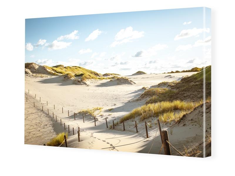 Strand Motiv Leinwand drucken im Format 240 x 1...