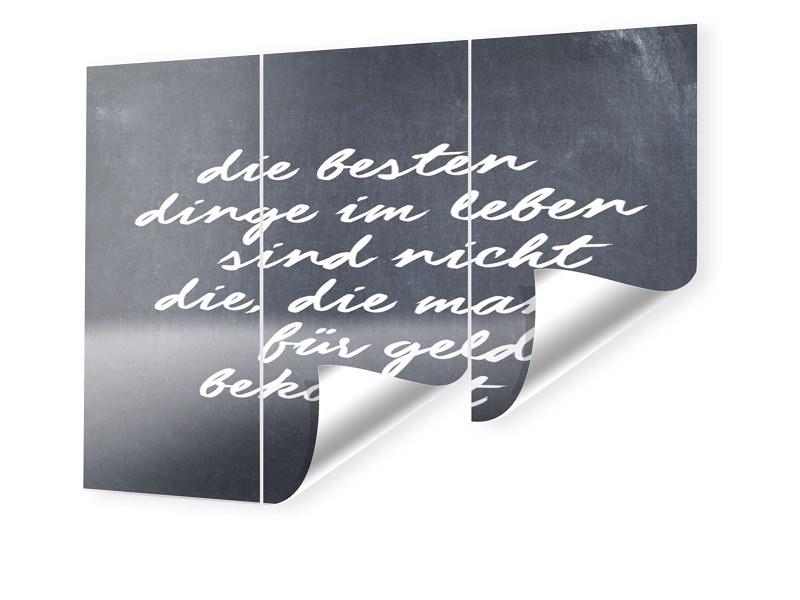 Einstein Zitat Fototapete im Format 160 x 120 cm