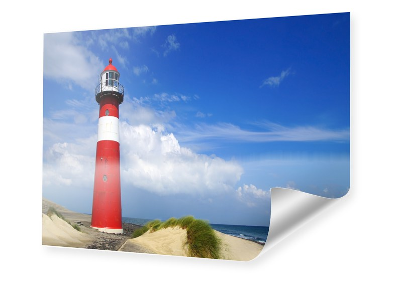 Leuchtturm Poster Foto im Format 70 x 50 cm