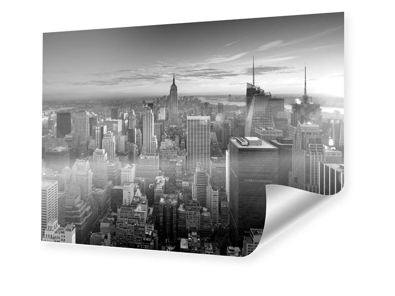 Manhattan Skyline Fotoprint im Format 140 x 100 cm
