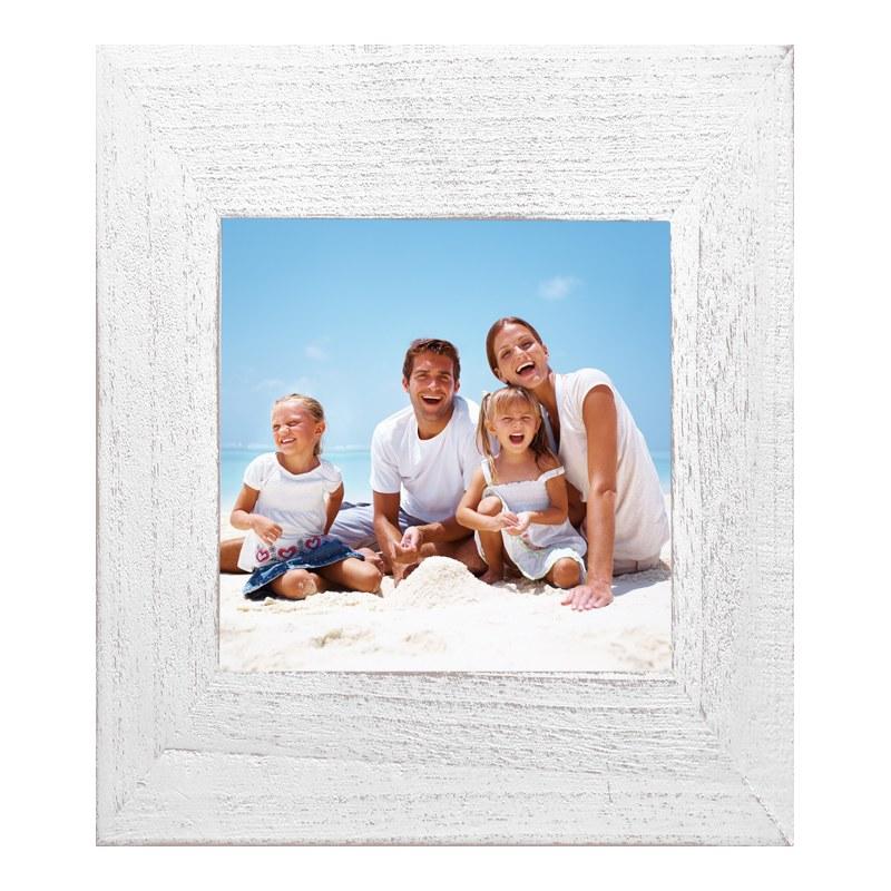 Foto im Aufstellrahmen Vintage in weiß im Forma...