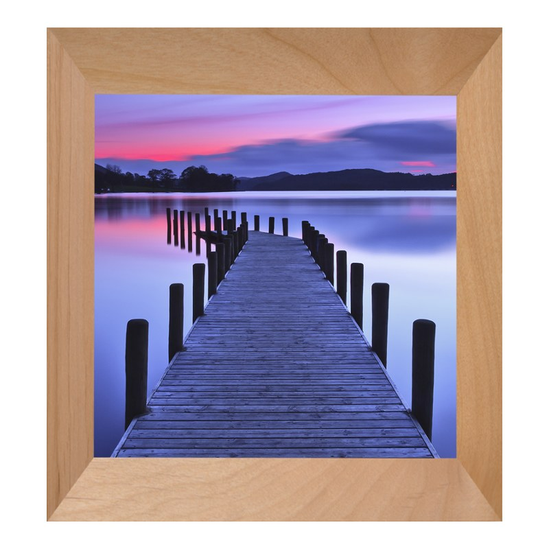 Foto im Fotorahmen Holz in natur im Format 18 x...