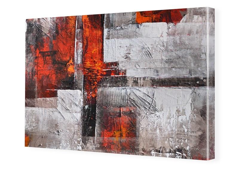 Abstrakt Struktur Leinwand drucken im Format 24...