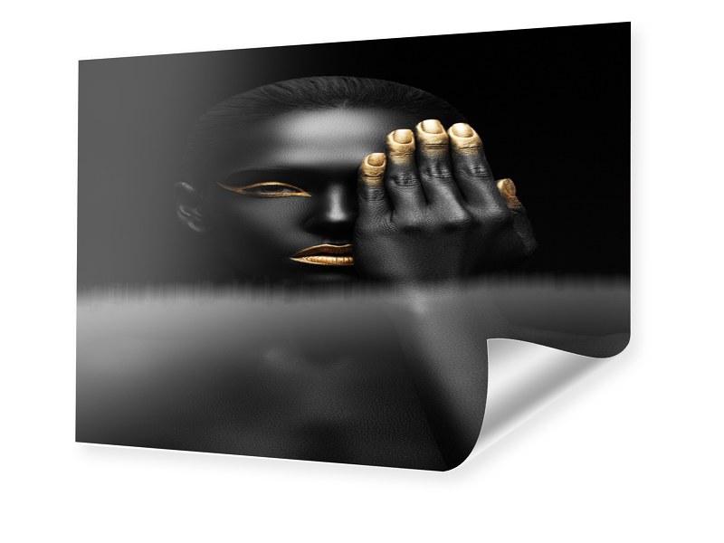 Fashion Porträt Foto im Format 60 x 50 cm